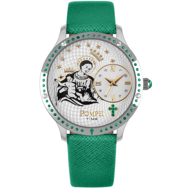 Orologio Pompei Time PMTSVER Verde